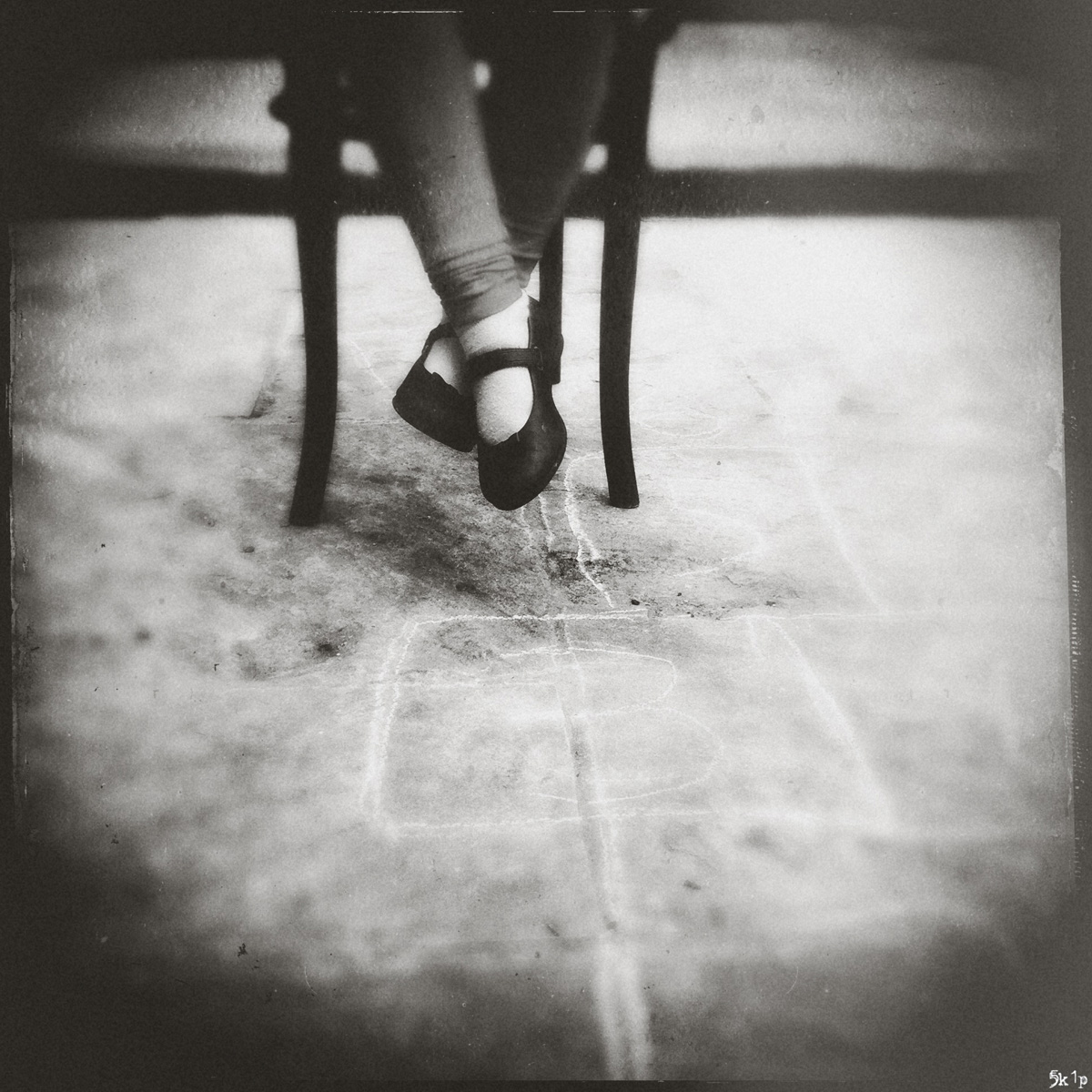 iphoneography - sitting in a chair